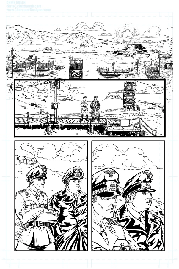 maya_sequential_Comics_Sketch_Chris_Noeth_Characterdesigner_pencils_inks_page_1_big