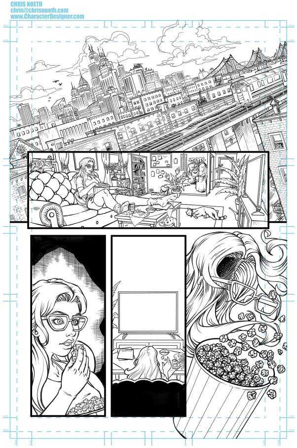 Chris_Noeth_SUPERGIRL_Sample_Page_01_FINAL_PENCILS
